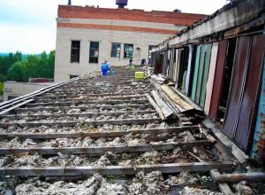 Крыша до ремонта
