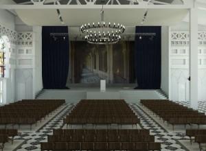 Дизайн зала для богослужений