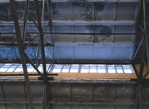 Окна в фанаре зала для Богослужений